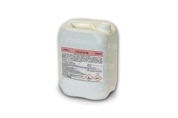 Cleanacid - Fertőtlenítő hatású savas habtisztító